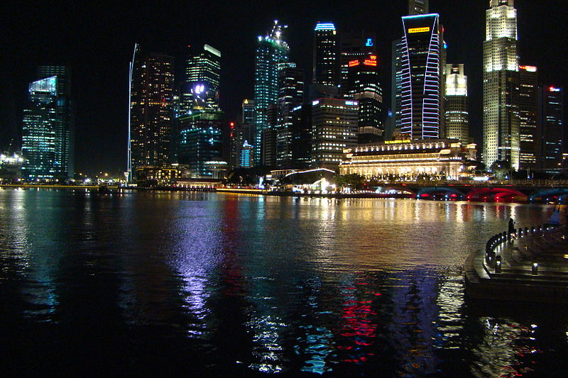 File:Night view of the Central Business District and Marina Bay, Singapore.jpg