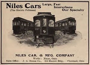 Niles Car and Manufacturing Company - 1908 Niles advertisement