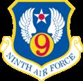 Ninth Air Force - Emblem (Cold War).png