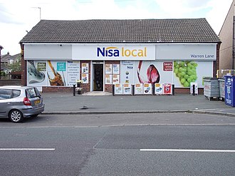 Nisa (retailer) - Nisa Local shop in Bingley in June 2012
