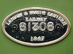 No.61306 Mayflower LNER Thompson Class B1 (6164361410).jpg