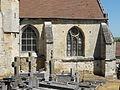 Nointel (60), église Saint-Vaast, collatéral sud du chœur.JPG