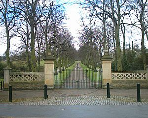 Norfolk Heritage Park - Norfolk Park entrance on Norfolk Park Road.