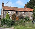 Norfolk flint row of cottages, Stiffkey - geograph.org.uk - 414877.jpg