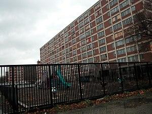 Cabrini–Green Homes - A Cabrini–Green mid-rise building, 2004.