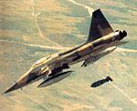 Northop F-5A bombs target in Vietnam, circa 1966.jpg