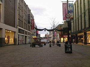 Northumberland Street - Image: Northumberland Street