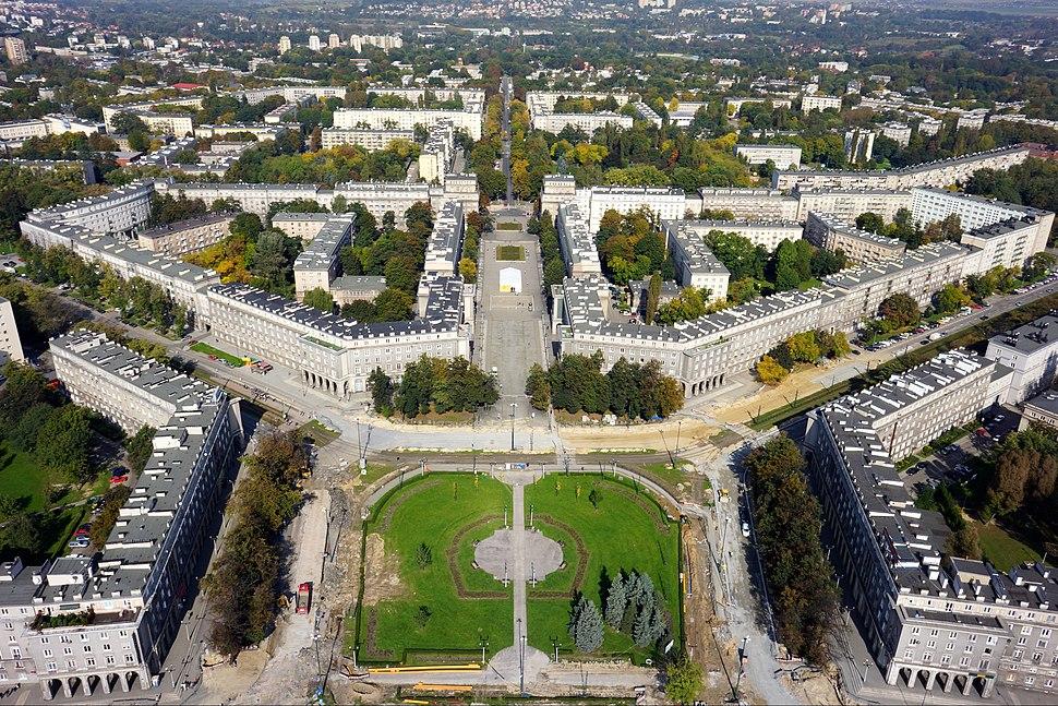 Nowa Huta jako idealne socjalistyczne miasto