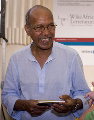 Nuruddin Farah - Farah at the Festivaletteratura in Mantua, September 2008.
