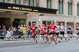 Half marathon - Image: Nychalfmarathon
