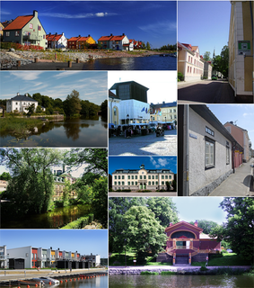 Nyköping Place in Södermanland, Sweden
