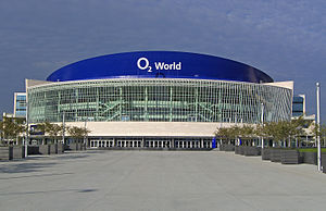 Mercedes-Benz Arena (Berlin) - Image: O2 World Berlin