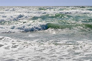 Natural resource - The ocean is an example of a natural resource. Ocean waves can be used to generate wave power which is a renewable energy. Ocean water is important for salt production, desalination, and providing habitat for deep water fishes. There are biodiversity of marine species in the sea where nutrient cycles are common.
