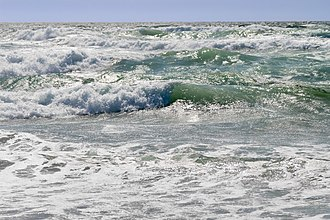 Natural resource - The ocean is an example of a natural resource. Ocean waves can be used to generate wave power, a renewable energy. Ocean water is important for salt production, desalination, and providing habitat for deep water fishes. There are biodiversity of marine species in the sea where nutrient cycles are common.