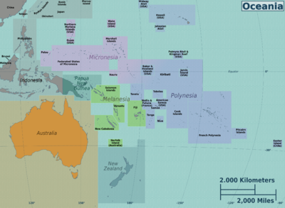 Languages of Oceania - Wikiversity