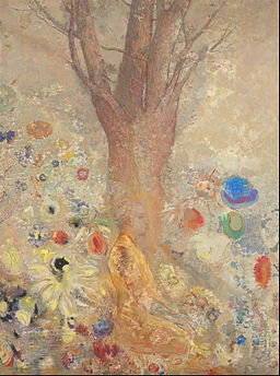 Odilon Redon - The Buddha - Google Art Project