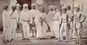 26th Punjabis - Image: Officers, 18th Punjab Inf, Delhi, May 1859
