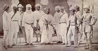 26th Punjabis - Image: Officers, 18th Punjab Inf, Delhi, May 1859