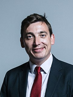 Gavin Shuker Member of Parliament (MP) for Luton South, England
