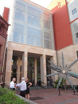 Ogden Museum of Southern Art - Entrance to Ogden Museum of Southern Art, 925 Camp Street, New Orleans, LA