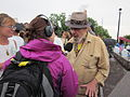 Oil Flood Protest Dr John interview.JPG