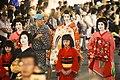 Oiran Dochu Procession in SUSUKINO. (36001171370).jpg