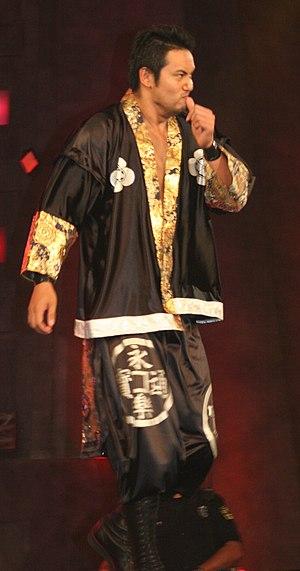 Kazuchika Okada - Okada at a TNA Xplosion taping in July 2010