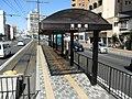 Okayama Electric Tramway Seikibashi Tram Stop - panoramio (8).jpg