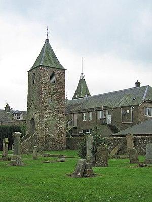 English: Old Church Tower, Auchterarder. Town'...