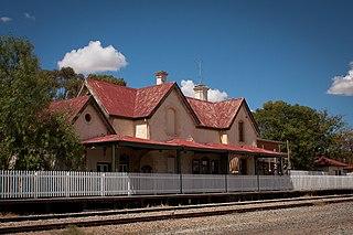York railway station, Western Australia