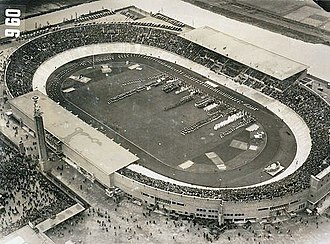 Olympic Stadium (Amsterdam) - The Olympic Stadium during the Olympic Games of 1928