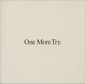 One More Try (George Michael song) - Image: One More Try