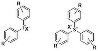 Photopolymer - Onium Salts