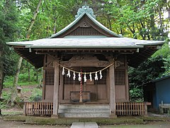 Oomatono Tsunoten Shinto Shrine in Inagi taken in May 2009.jpg