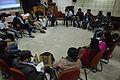 Open Discussion - Collaboration among Bengali Language Wikipedians of Bangladesh and West Bengal - Bengali Wikipedia 10th Anniversary Celebration - Jadavpur University - Kolkata 2015-01-09 2960.JPG
