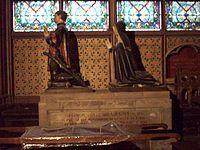 Orants de Jean Juvenal des Ursins et de sa femme Michelle de Vitry.JPG