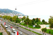 Ordu city view and boztepe mountain.jpg