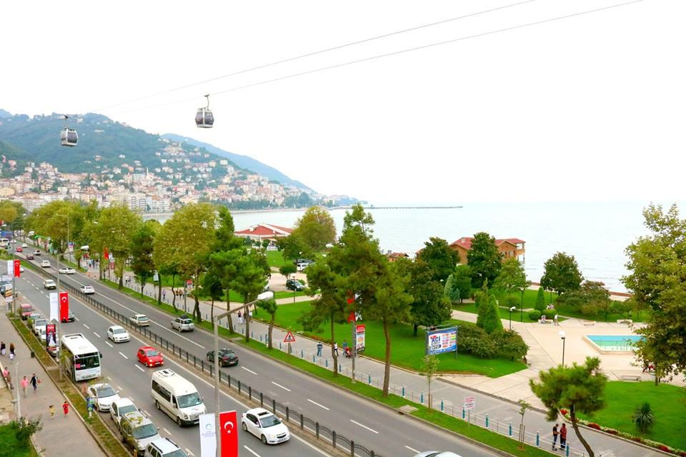 Ordu city view and boztepe mountain
