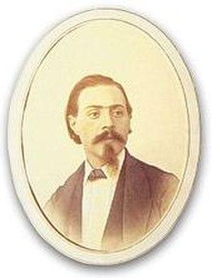 Oreste Sindici - Portrait of Oreste Sindici by Demetrio Paredes (ca.1870).