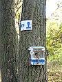 Országos Kéktúra stamp, Zsíros-hegy.jpg