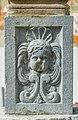 Ossiach ehem. Benediktinerstift Hof Statuensockel Puttengesicht 24022021 8691.jpg