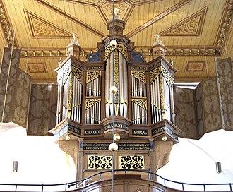 Osteel - Image: Osteel Orgel