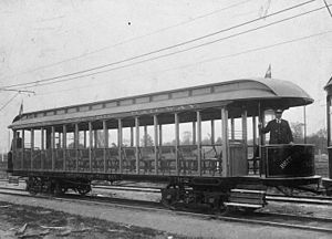 Ottawa Electric Railway - Image: Ottawa Electric Railway scenic car