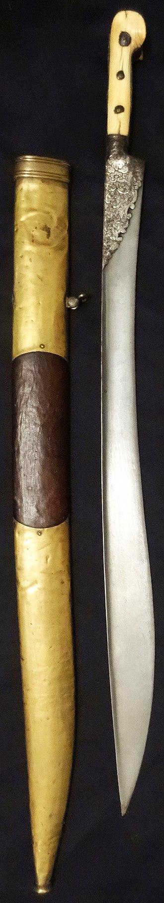 Ottoman weapons - Yatagan (yataghan)
