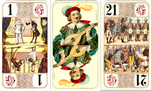 French tarot - Image: Oudlers 1910