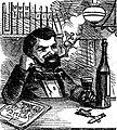 Our engraver as he appears on Thursday evening by Samuel Calvert (1855).jpg