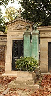 Père-Lachaise - Jules Auguste Béclard 01.jpg
