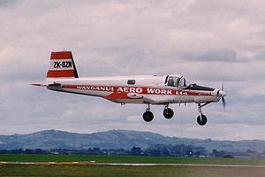 PAC Fletcher - Fletcher FU-24 in Wanganui Aero Work (now Ravensdown) colours.