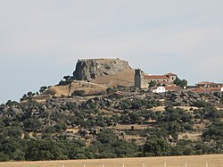 Skyline of Peñausende