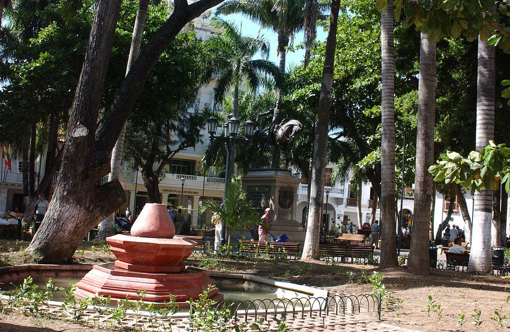 PLAZA DE BOLIVAR, CARTAGENA, COLOMBIA
